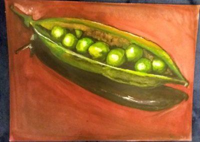 Polévkárna III. / Akvarel na papíře / 25,5 x 34,5 / 2014